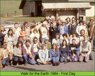 FIrst Day Walk for the Earth